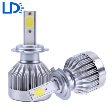 H7 LED Auto Headlights COB Car Lights Head Bulb 60000LM 60W Led Headlamp Automobiles Front Bulbs Driving Fog Lighting Source 12v