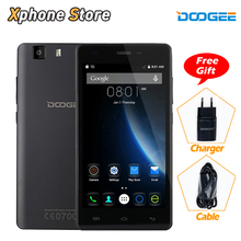Original DOOGEE X5 5.0 inch Android 5.1 3G WCDMA Smartphone 8G BROM 1GB RAM MT6580 Quad Core 8.0MP with Play Store Cell Phone