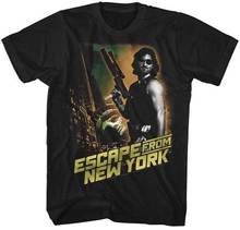 Escape From New York Kurt Russell Adult T Shirt Great Movie(China)