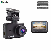 Accfly Car DVR DVRs dash cam camera car registrator Video Recorder blackbox full hd 1080p 170 degree Novatek 96658 Sony IMX323(China)