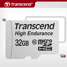 Transcend High Endurance microSDXC/SDHC MLC NAND Memory card 32GB 64GB micro sd card Up to 12,000 hours of durability