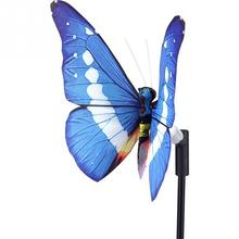 Home Garden Light Solar Powered Outdoor String Lights butterfly shaped  LED Light christmas decorations