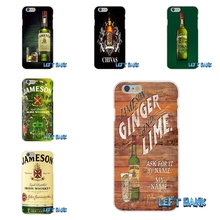 Jameson Irish Whiskey limited edition Soft Silicone TPU Transparent Cover Case For iPhone 4 4S 5 5S 5C SE 6 6S 7 Plus