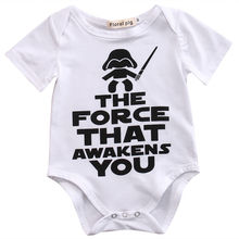 Newborn Star Wars Baby Clothes Cotton Romper Playsuit Sunsuit Outfits Infant New Arrival Boys Girls Summer Rompers Costume