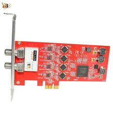 TBS6704 ATSC/Clear QAM Quad Tuner PCIe Card for Receiving North American/South Korea ATSC, 8VSB and Clear QAM cable TV on PC(China)