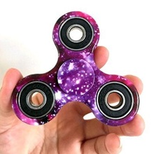 Bright Purple Sky Finger Spinner Kids Stress Relieve EDC Toy Hand Spinner for Autism & ADHD Cure Focusing Tool Puzzles Gift P5