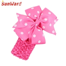 SunWard Girls Headbands Newly Design Cute Kids Flower Head Wear Hair May11 Drop Shipping Sunward
