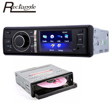 320 3 Inch Car Radio 1 Din Car Audio Stereo DVD CD Player Bluetooth FM Rear View Camera Function USB SD with Remote Control