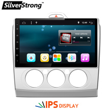 Free Shipping Android 6.0 IPS Panel 10 inch Car GPS Radio For Ford FOCUS1 FOCUS 2 With 2GB RAM Radio Focus2 Android Radio