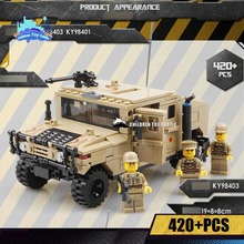 NEW Military Hummer H1 Building Blocks Educational Bricks Kids Toys Models & Building Toy Compatible with legoe(China)