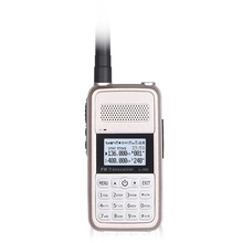 TDX Mini Walkie Talkie 5W High Power Portable Two Way Radio VHF UHF UV Dual Band PTT Ham Transceiver