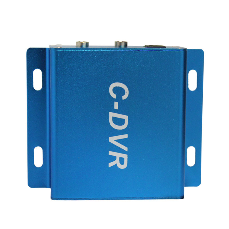 1channel mini cctv security TF card analog video/audio dvr recorder VGA 640*480 loop recording <br>