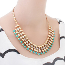 Fashion Bohemia Knitting Necklace Choker Collar Necklace Fine Jewerly For Women Necklace