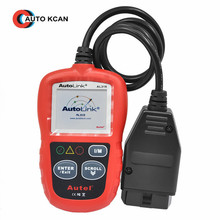 Original Autel AutoLink AL319 OBD II & CAN Domestic Asian and European Scan Tool OBD2(China)