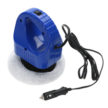 DC 12V 40W 1600 RPM Portable Car Polisher Auto Wax Polishing Machine Electric Gloss Paint Repair Polisher Car-styling Care Tools(China)