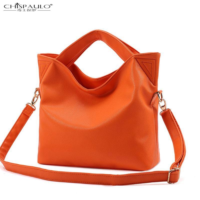 CHISPAULO-2017 summer fashion handbags Messenger bag retro minimalist casual shoulder bag big bag lady<br><br>Aliexpress
