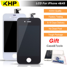 100% KHP Original AAAA Quality LCD For iPhone 4 4s Screen Replacement LCD Display Touch Screen Digitizer Quality Screen LCDs(China)