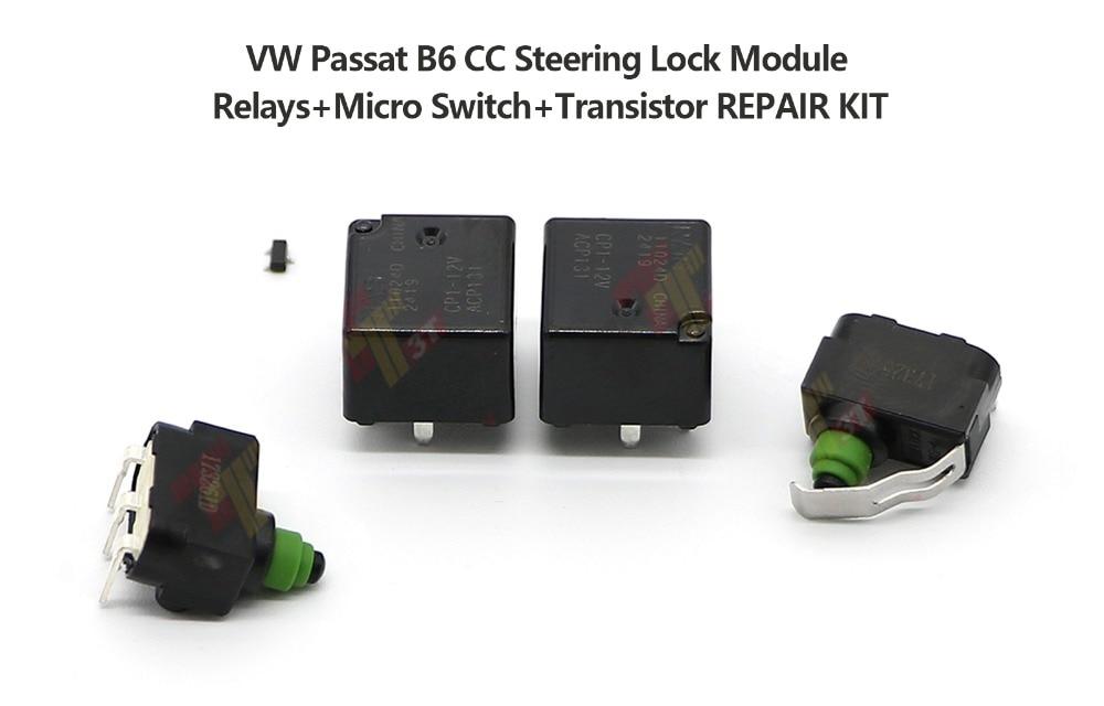 A Pair Micro Switch 3C0905864 REPAIR KIT for VW Passat B6 CC
