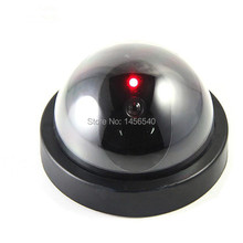 Indoor Emulational Surveillance Realistic Dummy Home Dome Fake CCTV Security Camera with Flashing Red LED Light Free Shipping