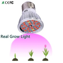 Full Spectrum LED Grow Light E27 18SMD 28SMD Lamp LED Grow Spot Bulb for Hydroponics Flowers Plants Vegetables Grow Box 85-265V(China)