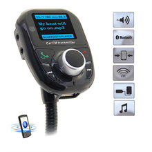 LCD Bluetooth Car Kit MP3 Player Audio FM Transmitter FM Modulator Radio Car-Charger Universal Hand Free Wireless
