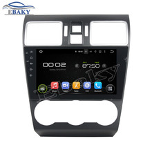 NaviTopia 9inch Quad Core Android 5.1 Car DVD Player For Subaru WRX 2014 2015 2016 with Radio Audio Mirror Link/Bluetooth/map(China)