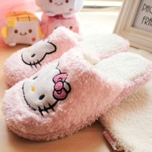 New Hello Kitty Women thin light home slippers home Plush shoes yey-9132
