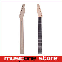 22 Frets Left Handed Rosewood Fingerboard Guitar Neck with Black Line For TL Tele Electric Guitar Replacement(China)