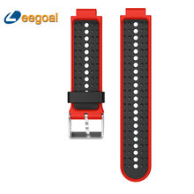 For Garmin Forerunner 220/230/235/620/630 Soft Silicone Strap Bracelet Replacement Wristband Wearable Devices With Screwdriver