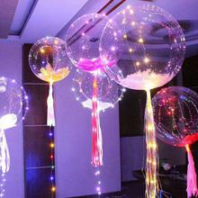 LED Balloon Wedding Christmas LED Latex Helium Balloon Children Party Birthday Decor New Year Decor(China)