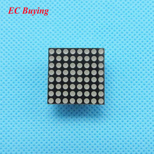 10pcs 8x8 Mini Dot Matrix LED Display Red Common Anode Digital Tube 16-pin 20mmx20mm 1.9mm DIY Electronic Kit