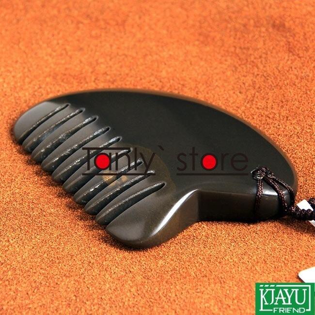 5A grade Original Si Bin Bian-stone massage guasha kit facial beauty comb little size 65x45x7 gift gua sha chart<br>