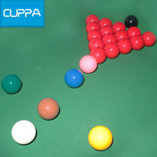 High Quality Cuppa Snooker Table Billiard Balls Set 52mm Snooker billiards Accessories China(China)