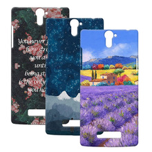 Fashionable Customizd Simple Shell Oil Painting Lovely Hard Cover Case For OPPO Find 5 X909