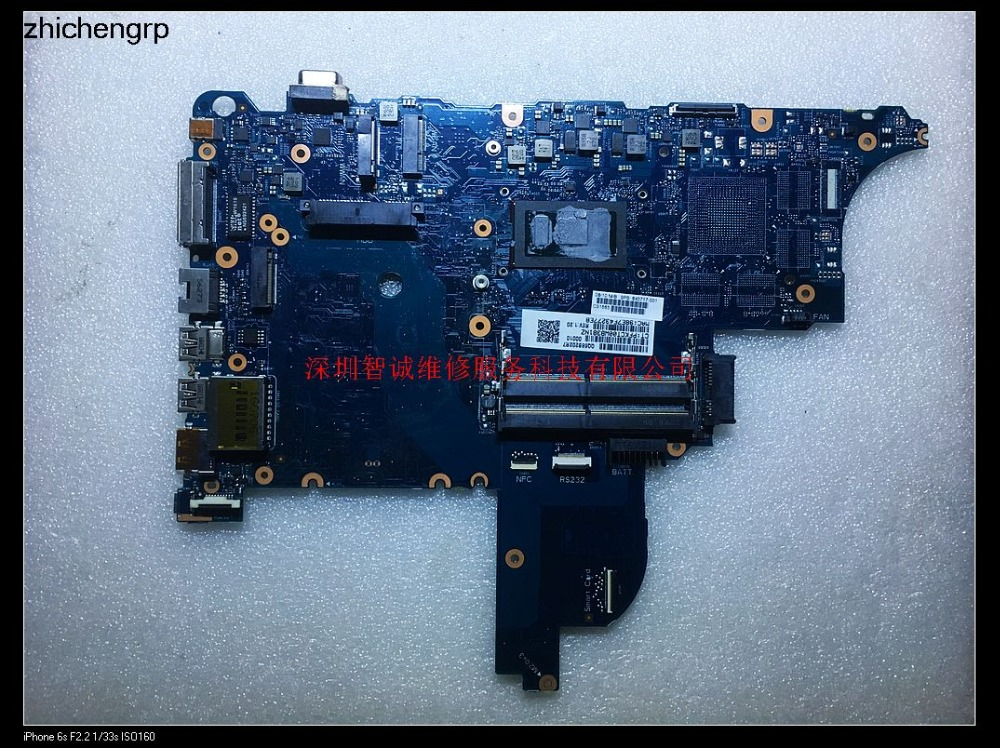 For HP Probook 640 G2 G650 G2 motherboard 6050A2723701 840717-001 I5-6300U DDR4 Integrated graphics motherboard