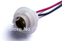 2pcs S25 ba15s single  lamp socket Heat Resistance for tail and side lamp
