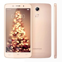 Original HOMTOM HT17 Pro 5.5 inch 4G Mobile Phone Android 6.0 MT6737 Quad Core 2GB RAM 16GB ROM Smartphone Fingerprint Cellphone(China)