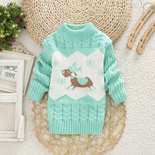 Hot Sale 2016 Infant Baby Boys Girls Children Kids Knitted Winter Autumn Pullovers O-Neck Warm Outerwear Boy Sweaters 8 Color