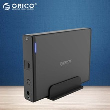ORICO 3.5 inch Type-C USB3.1 To SATA3.0 External Case HDD SSD Hard Drive Disk Enclosure Dock Storage Box 5GBPS Detachable 8TB