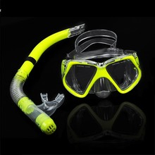 Hot ! New 2013 Scuba Diving goggles Equipment Dive Mask + Dry Snorkel Set Scuba Snorkeling Gear Kit