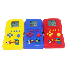 Selling High Quality Childhood Classic Tetris Held LCD Electronic Game Toys Game console Children Toys Children Educational Toys