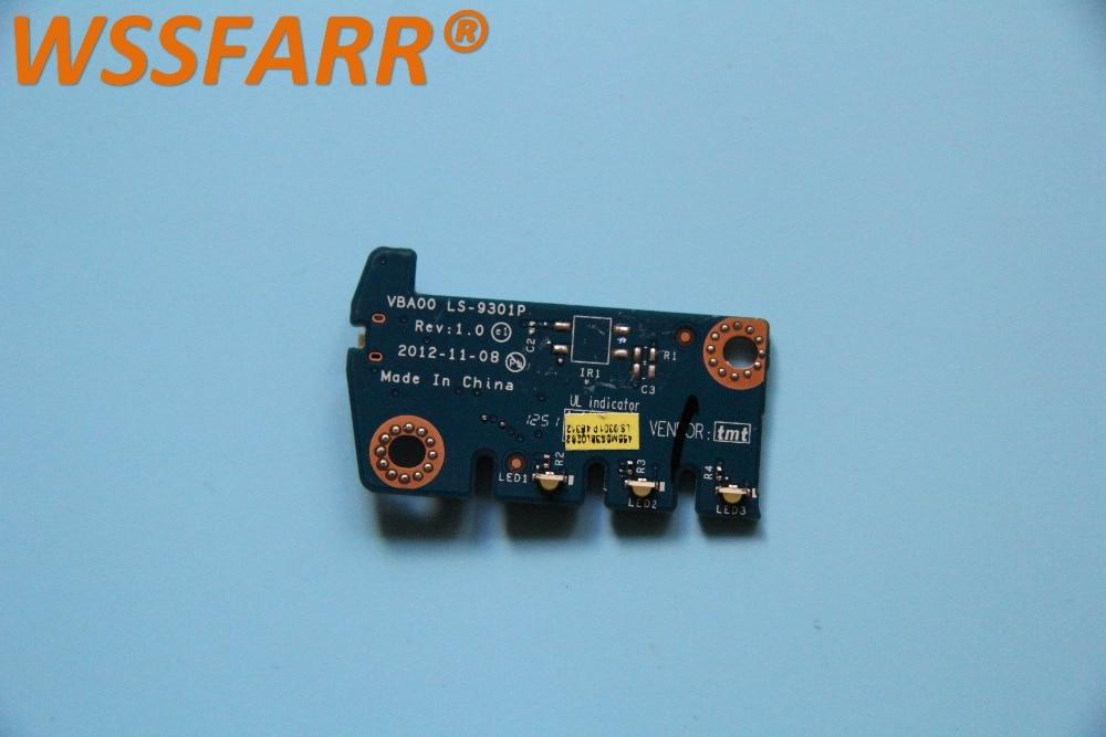 New Lenovo IdeaCentre C540 Power Button Board LED Indicator Board LS-9301P