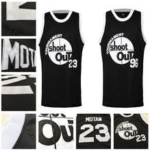 Retro  #96 Tournament Shootout Movie Jersey Black Cool Basketball Jersey Shirts Wear size extra small XS S - 3xl