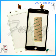 RUBINZHI Touch Screen Sensor Glass For Alcatel One Touch Pop Star 3G OT5022 OT 5022 5022X 5022D Digitizer Touch Panel +3M tape