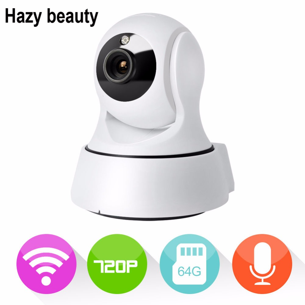 Hazy beauty Home Security Camera Wireless Mini IP Camera Surveillance Camera Wifi 960P Night Vision CCTV Camera Baby Monitor<br>