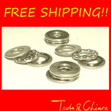 10Pcs 51100 Axial Ball Thrust Bearing 3-Parts 10mm x 24mm x 9mm Free shipping High Quality(China)