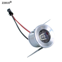 ZINUO 1PC 1W 3W Mini LED Spotlight Surface Mounted  Jewelry lamp led cabinet light Bookcase Lights Led Spot Light AC110V 220V