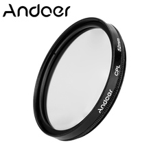 Andoer 52mm Digital Slim Circular Polarizer Polarizing Glass CPL Filter for Canon Nikon Sony DSLR Camera Lens
