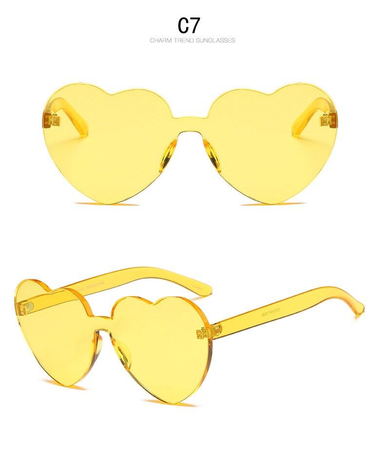 FU E2018New peach heart fashion lady sunglasses flat light mirror bright color designer glasses men's sunglasses OK114  2019