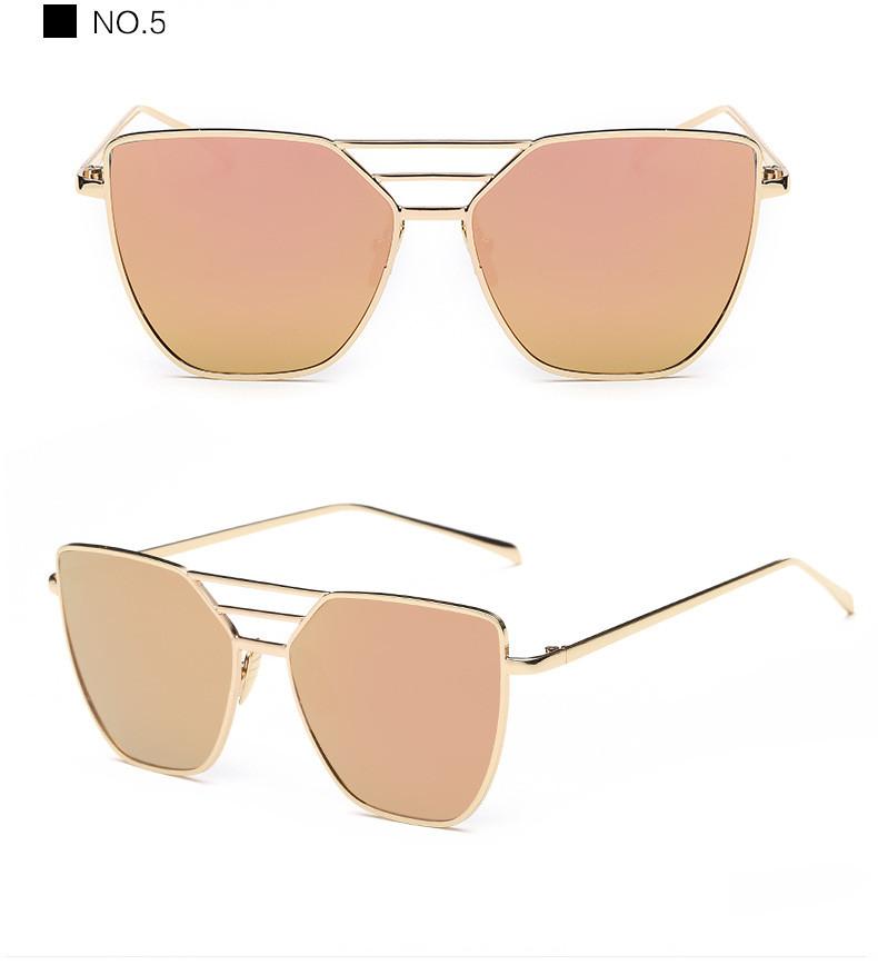 High Quality Cat Eye Sunglasses Women Brand Designer Driving Summer Sun Glasses Women Female Lady Sunglass Mirror Vintage Retro (13)